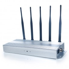 5 Antennas Mobile Phone Jammer for 3G & 4G