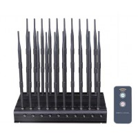 DIS-2000 World First 20 Antennas All-In-One 5G Mobile Phone Jammer